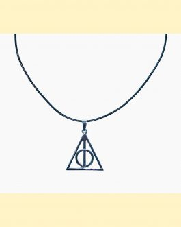Collar reliquias de la muerte Harry Potter
