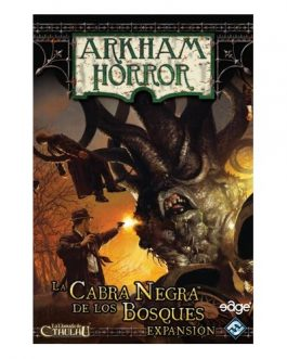 Juego de Mesa Arkham Horror: La cabra negra de los bosques