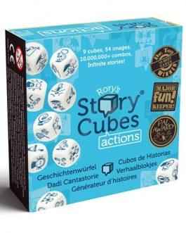 Juego de Mesa Story CubesAcciones