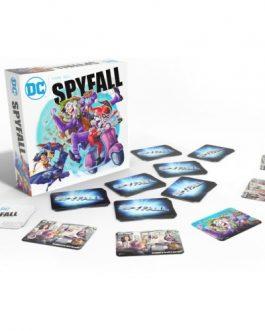 Juego de Mesa DC Spyfall: El Villano que se Perdió