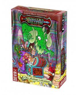 Juego de Mesa Dragones y Gallinas
