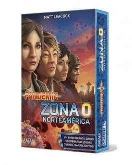 Juego de Mesa Pandemic: Zona 0 Norteamerica