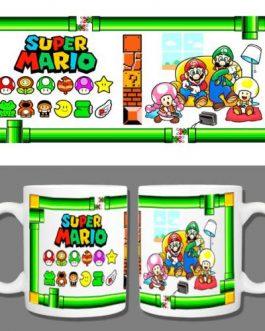 Tazón Premium Super Mario