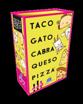 Juego de Mesa Taco, Gato, Cabra, Queso, Pizza
