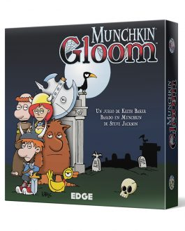 Juego de Mesa Munchkin Gloom