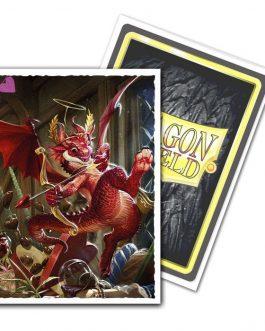 DS: ART MATTE Sleeves (100) – Valentine Dragon 2020