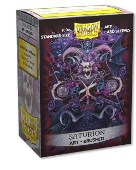 DS: ART BRUSHED Sleeves (100) – Saturion: Coat-of-Arms