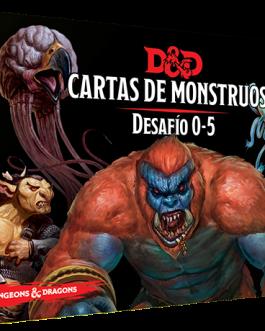 D&D Desafío 0-5 / Cartas de monstruos