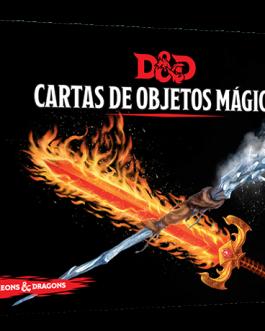 D&D Cartas de objetos mágicos