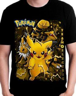 Polera Pokemon Eléctrico