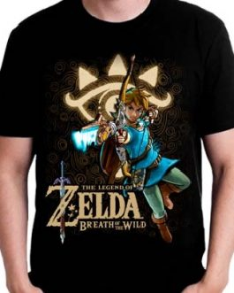 Polera Zelda Breath of the Wild Delantera