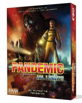 Juego de Mesa Pandemic al Limite