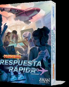 Juego de Mesa Pandemic: Respuesta rapida