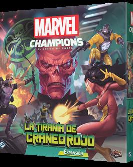 Juego de Cartas Marvel Champions: La Tiranía de Cráneo Rojo