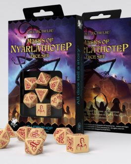 Call of Cthulhu Masks of Nyarlathotep Set de 7 Dados