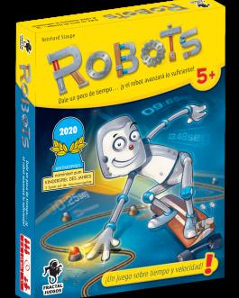 Juego de Cartas Robots