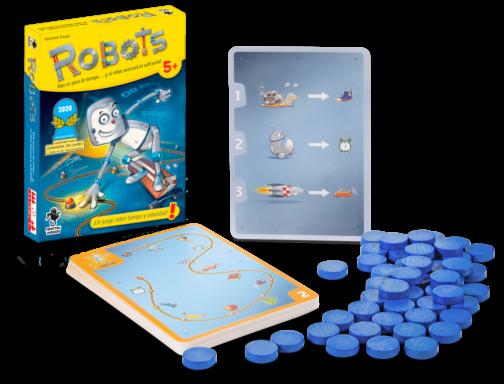 Robots Juego de Mesa Fractal Juegos