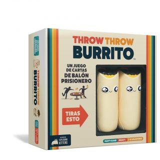Throw Throw Burrito Juego de Mesa (en Español)