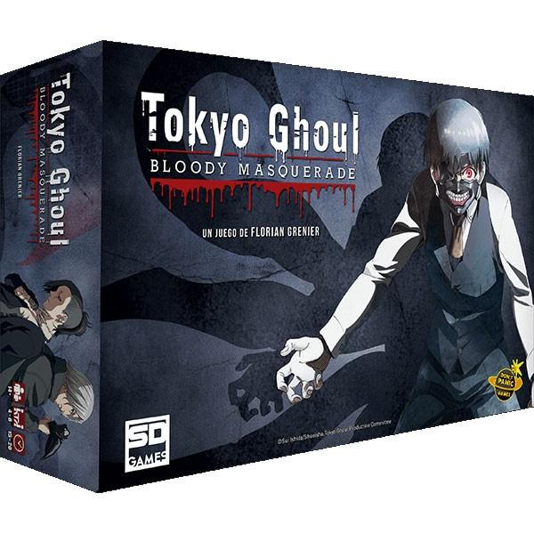 Juego de Mesa Tokyo Ghoul: Bloody Masquerade