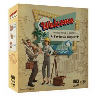 Juego de Cartas Welcome hacia el perfecto hogar