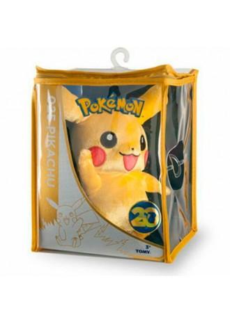 Peluche Pikachu Pokémon 20 Aniversario