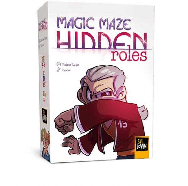 Juego de Mesa Magic Maze: expansion roles ocultos