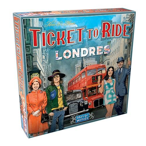 Juego de Mesa Ticket to Ride Londres