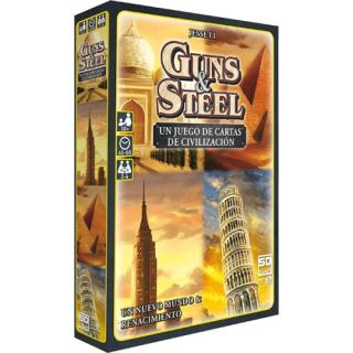 Guns and steel: Un juego de cartas de Civilizacion