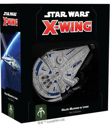X-Wing 2nd Ed: Halcón Milenario de Lando