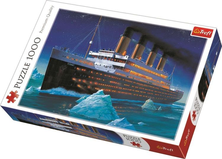 Puzzle 1000 piezas Titanic