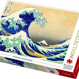 Puzzle 1000 piezas La gran ola de Kanagawa