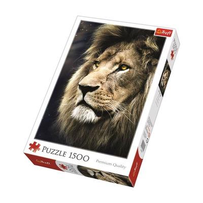 Puzzle 1000 piezas Retrato de un león