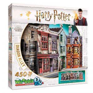 Puzzle 3D Harry Potter – El Callejon Diagon