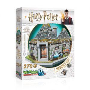 Puzzle 3D Harry Potter - Cabaña de Hagrid