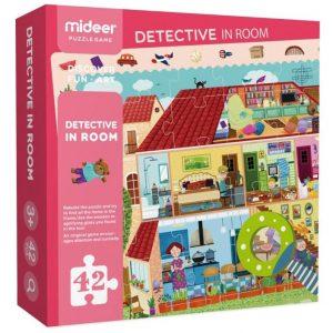 Puzzle Juego Detective in Room