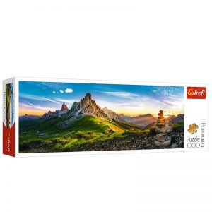 Puzzle Panorámico 1000 piezas Passo di Giau, Dolomites