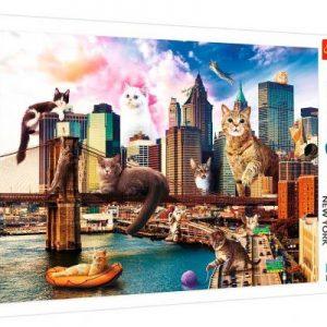 Puzzle 1000 piezas Gatos en New York