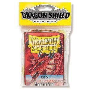 Funda mini Dragon Shield Rojo (50)