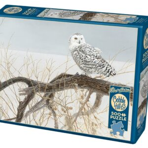 Puzzle 500 piezas Fallen willow snowy owl