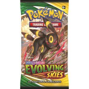 Booster Pokemon Evolving Skies