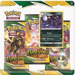 Pack Blister 3 Pokemon Evolving Skies