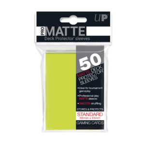 Protector Ultra Pro standard Pro Matte Color Lima