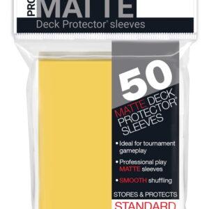 Protector Ultra Pro standard Pro Matte Color Amarillo