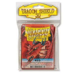 Funda Standard Dragon Shield Rojo (50)