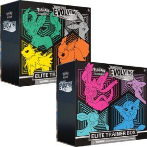 Elite Trainer Box Pokemon Cielos Evolutivos