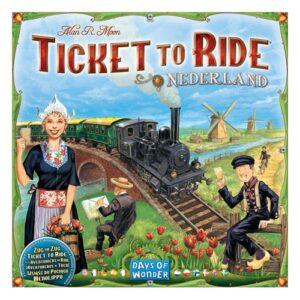 Ticket to Ride expansión Países Bajos