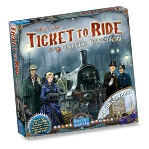Ticket to Ride expansión Reino Unido