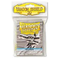 Funda Standard Dragon Shield Silver (50)