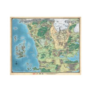 D&D Mapa de Faerun