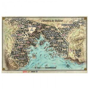 D&D Mapa de Puerta de Baldur